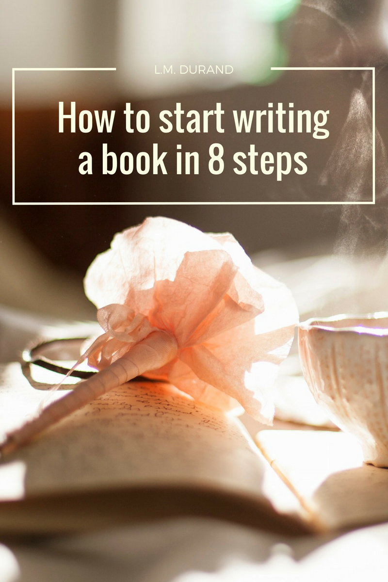 Tips to writing a book